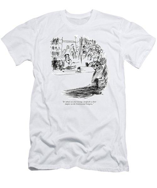 It's About Sex And Revenge Men's T-Shirt (Athletic Fit)