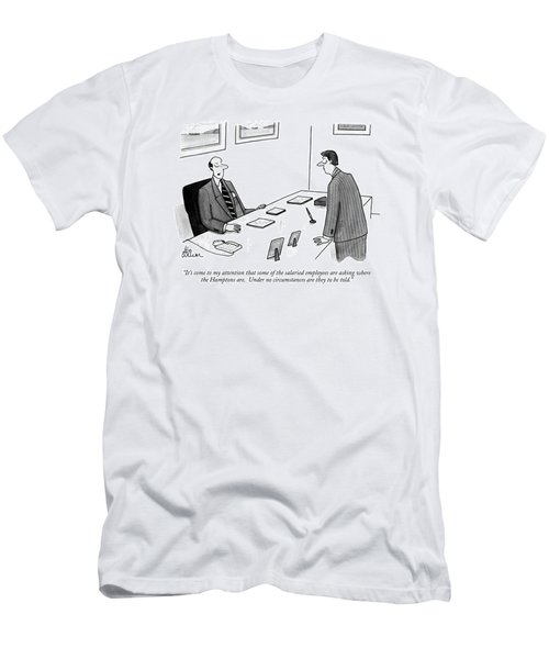 It's Come To My Attention That Some Men's T-Shirt (Athletic Fit)