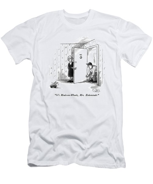 It's Meals-on-wheels Men's T-Shirt (Athletic Fit)