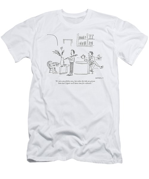 It's Not A Possibility Now Men's T-Shirt (Athletic Fit)