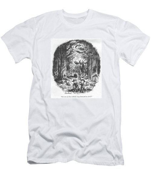 It's One Of Those Whistles Dogs Hear And We Don't Men's T-Shirt (Athletic Fit)