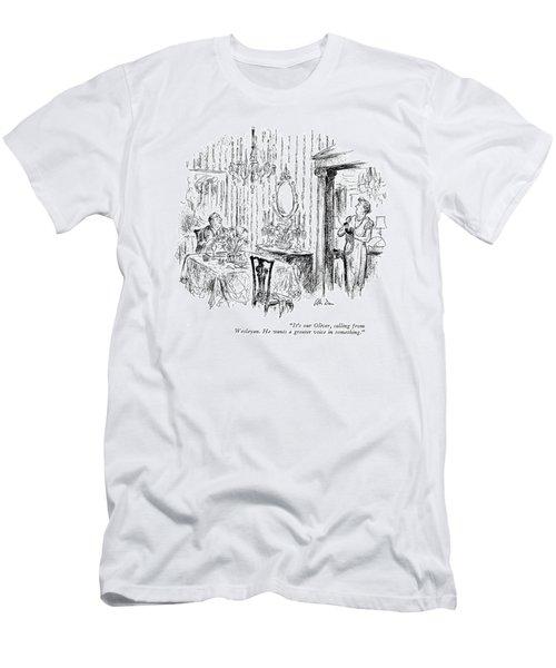 It's Our Oliver Men's T-Shirt (Athletic Fit)