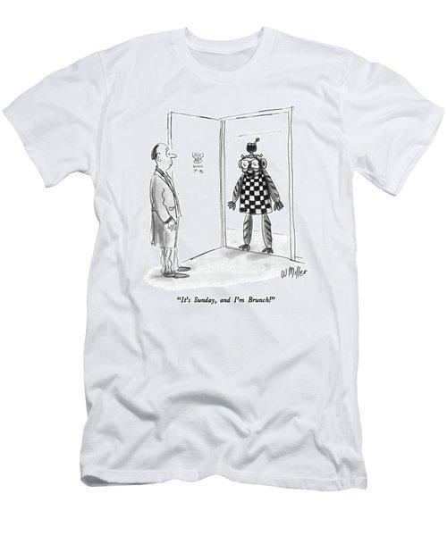 It's Sunday Men's T-Shirt (Athletic Fit)