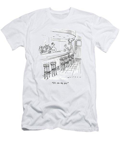 It's The Big Guy Men's T-Shirt (Athletic Fit)