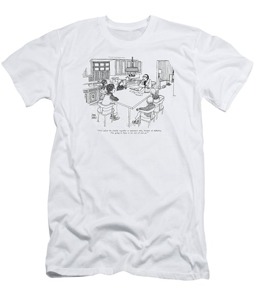 I've Called The Family Together To Announce That Men's T-Shirt (Athletic Fit)