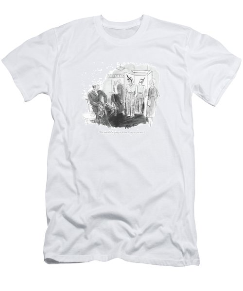 I've Said All I'm Going Men's T-Shirt (Athletic Fit)