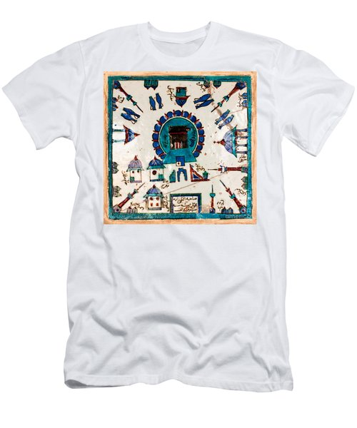 Iznik Kaaba Men's T-Shirt (Athletic Fit)