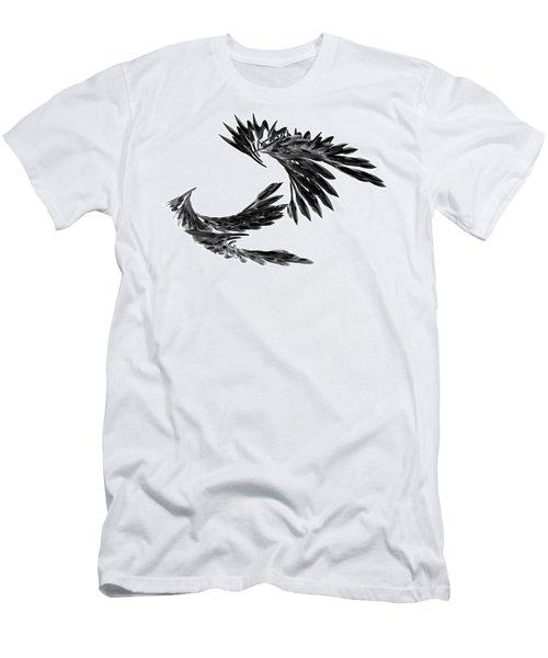 J Big   Crows Men's T-Shirt (Athletic Fit)