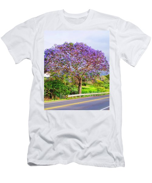 Jacaranda 4 Men's T-Shirt (Athletic Fit)
