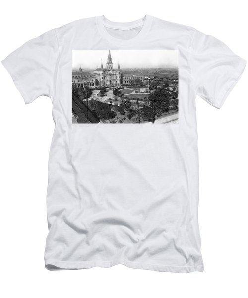 Jackson Square In New Orleans Men's T-Shirt (Athletic Fit)