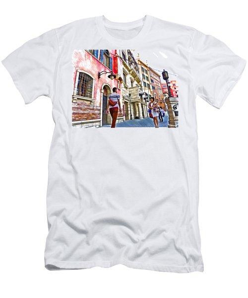 Japan 2187 Men's T-Shirt (Athletic Fit)