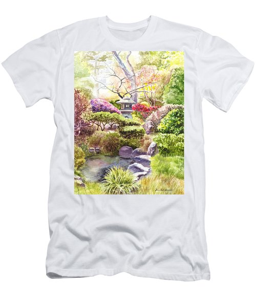 San Francisco Golden Gate Park Japanese Tea Garden  Men's T-Shirt (Athletic Fit)