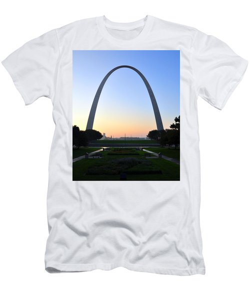 Jefferson National Expansion Memorial Men's T-Shirt (Athletic Fit)