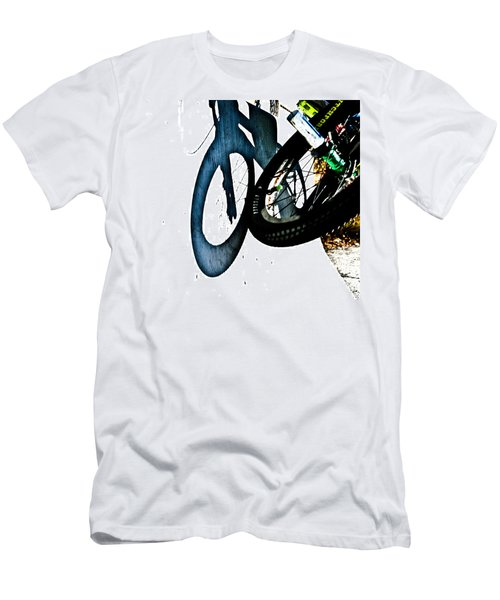 Men's T-Shirt (Slim Fit) featuring the photograph Jersey Barrier by Joel Loftus