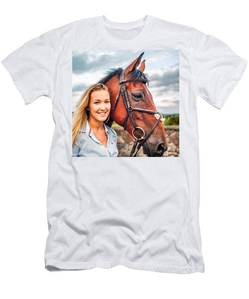 Jessica & Gunner Men's T-Shirt (Athletic Fit)