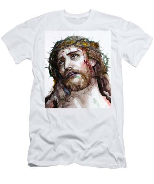 The Suffering God Men's T-Shirt (Slim Fit) by Laur Iduc