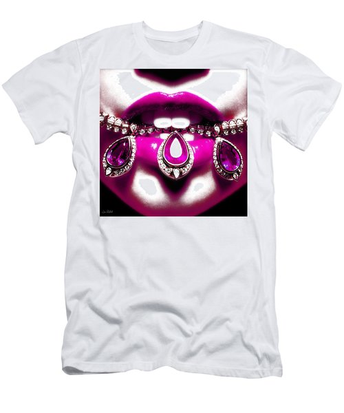Jewelips Pink Men's T-Shirt (Athletic Fit)