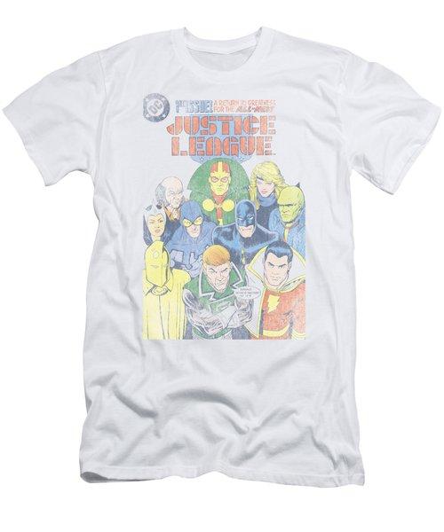 Jla - Justice League #1 Cover Men's T-Shirt (Athletic Fit)