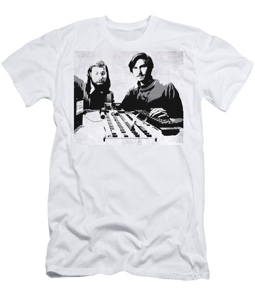 Jobs And Wozniak . . . In The Early Days  Men's T-Shirt (Athletic Fit)