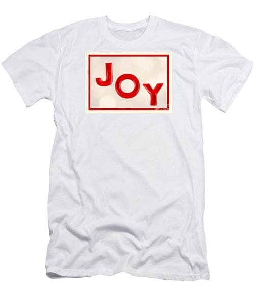 Men's T-Shirt (Slim Fit) featuring the photograph Joy To The World by Vizual Studio