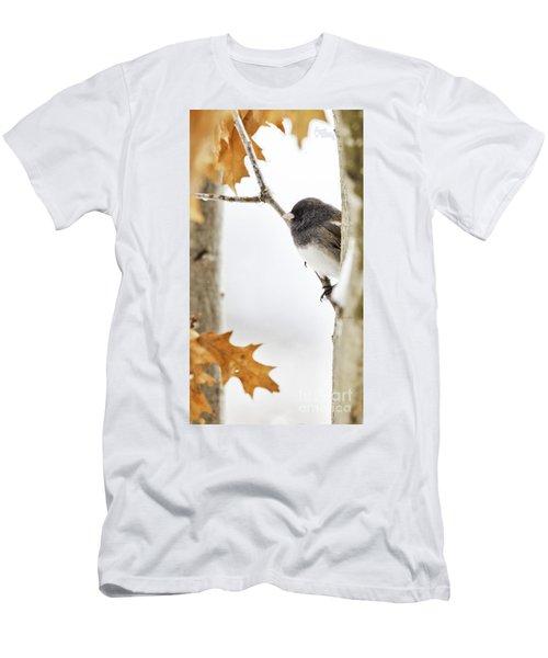 Junco And Oak Men's T-Shirt (Athletic Fit)