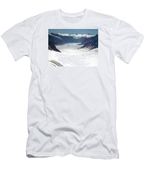 Jungfrau Glacier Men's T-Shirt (Athletic Fit)