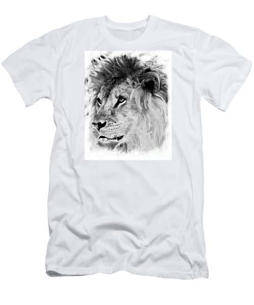 Jungle King Men's T-Shirt (Slim Fit) by Marcia Lee Jones