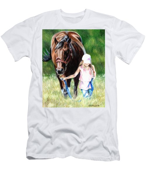 Just A Girl And Her Horse Men's T-Shirt (Athletic Fit)