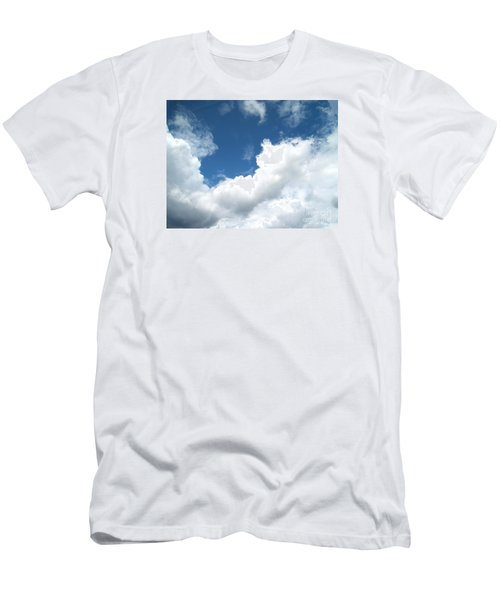Men's T-Shirt (Slim Fit) featuring the photograph Just Breathe ... by Susan  Dimitrakopoulos