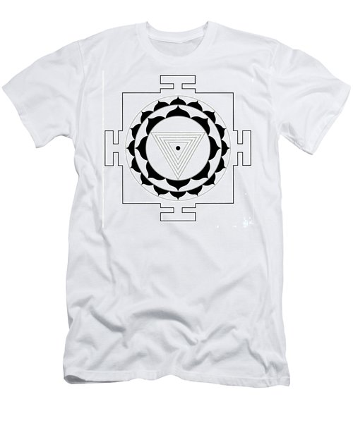 Kali Yantra Men's T-Shirt (Athletic Fit)