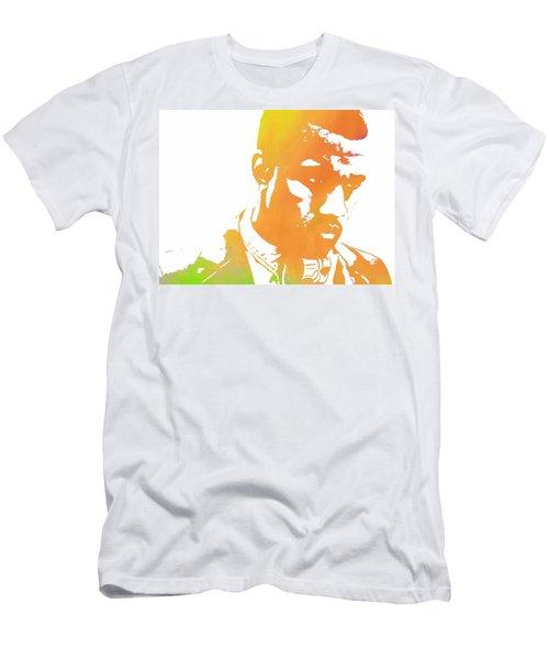 Kanye West Pop Art Men's T-Shirt (Slim Fit) by Dan Sproul