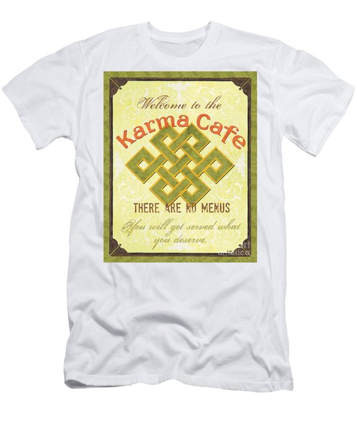 Karma Cafe Men's T-Shirt (Athletic Fit)
