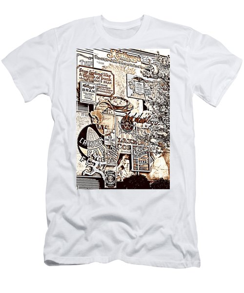 Kellogg's Wall Men's T-Shirt (Slim Fit) by Sennie Pierson