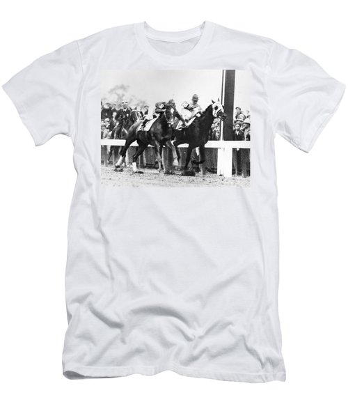 Kentucky Derby Foul Play Men's T-Shirt (Athletic Fit)