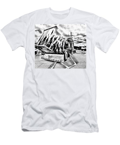 Kenworth Rig Men's T-Shirt (Athletic Fit)