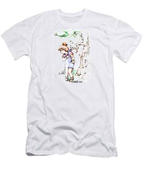 Trail Blazing Edition Kidnabbed 2 Foto Men's T-Shirt (Slim Fit) by Dawn Sperry