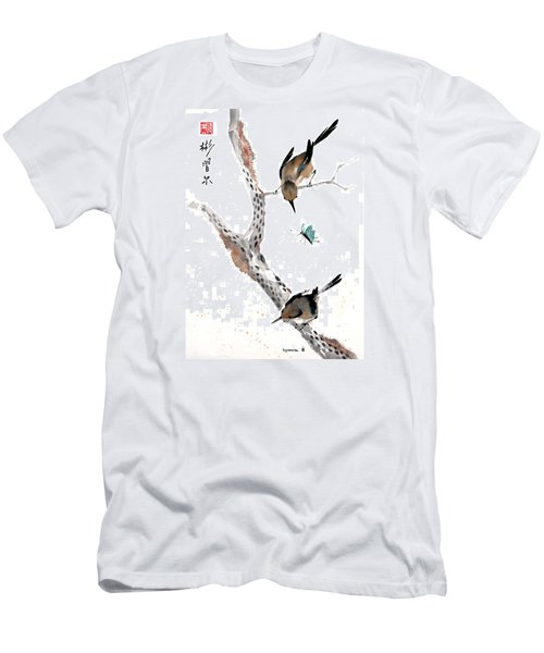 Kindred Hearts Men's T-Shirt (Slim Fit) by Bill Searle
