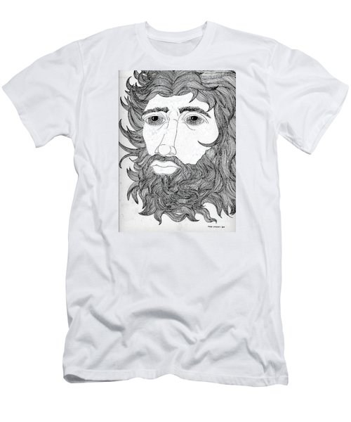 King David Men's T-Shirt (Slim Fit) by Fred Jinkins