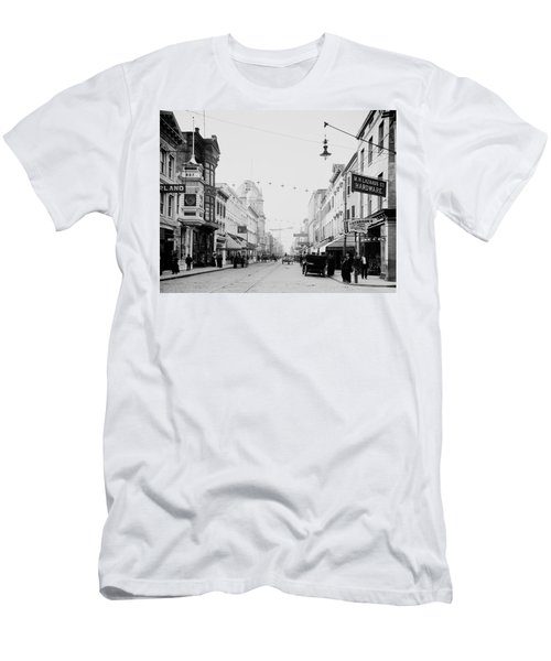 King Street In Charleston South Carolina Circa 1910 Men's T-Shirt (Athletic Fit)