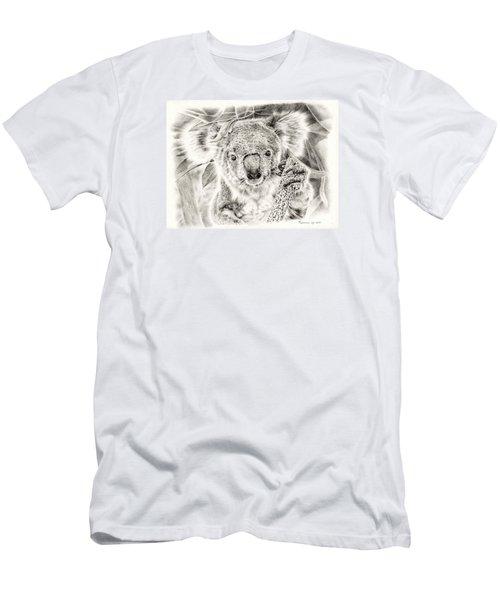 Koala Garage Girl Men's T-Shirt (Slim Fit) by Remrov
