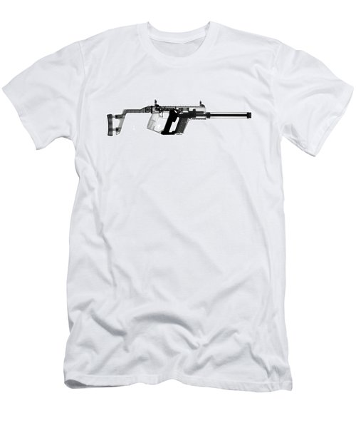 Kriss Vector X-ray Photograph Men's T-Shirt (Athletic Fit)