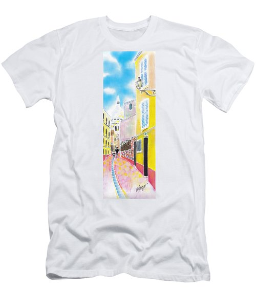 La Butte Montmartre Men's T-Shirt (Athletic Fit)