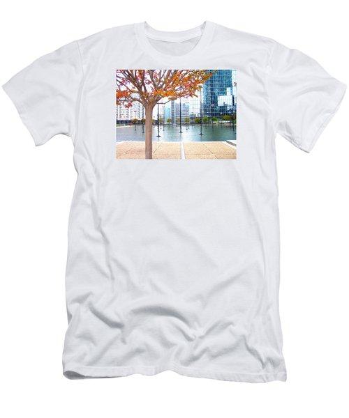 La Defense Men's T-Shirt (Slim Fit) by Oleg Zavarzin