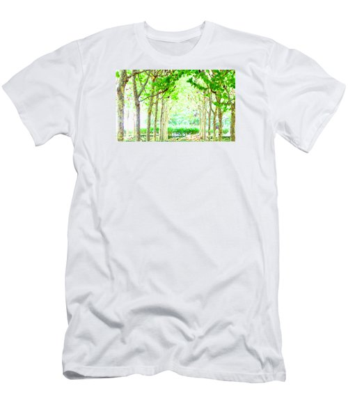 La Defense Platanuses Men's T-Shirt (Slim Fit) by Oleg Zavarzin