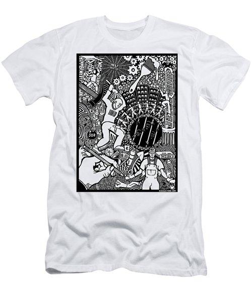 Labor Daze Men's T-Shirt (Athletic Fit)