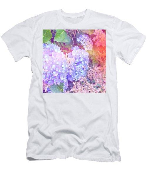 Lacy Details  Men's T-Shirt (Athletic Fit)