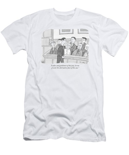 Ladies And Gentlemen Of The Jury Men's T-Shirt (Athletic Fit)