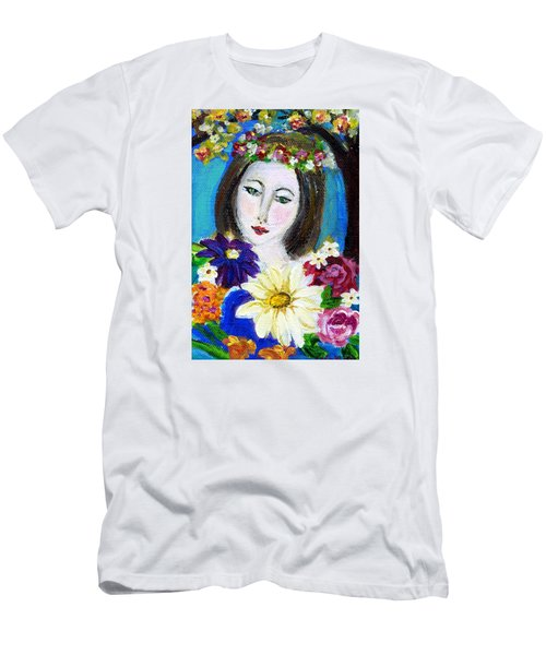 Lady Of Spring Men's T-Shirt (Athletic Fit)