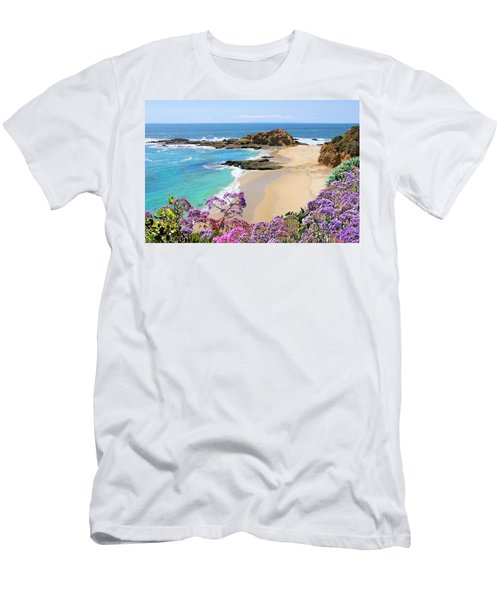 Laguna Beach Coastline Men's T-Shirt (Athletic Fit)