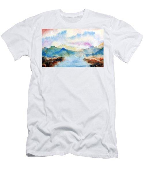 Lake Chuzenji Nikko Men's T-Shirt (Athletic Fit)